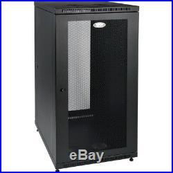 Tripp Lite 24u Rack Enclosure Server Cabinet 33 Deep With Doors & Sides