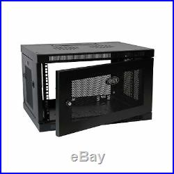 Tripp Lite 6U Wall Mount Rack Enclosure Server Cabinet, 16.5 Deep, Switch-De