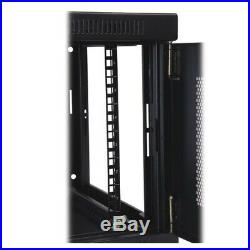 Tripp Lite 6U Wall Mount Rack Enclosure Server Cabinet, 16.5 Deep, Switch-Dept