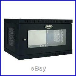 Tripp Lite 6U Wall Mount Rack Enclosure Server Cabinet with Acrylic Glass Win