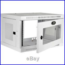 Tripp Lite 6U Wall Mount Rack Enclosure Server Cabinet with Acrylic Glass Windo