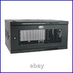 Tripp Lite 6U Wallmount Rack Enclosure Server Cabinet Wide with Cable Management