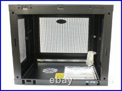 Tripp Lite 9U Wall Mount Rack Enclosure Cabinet Wallmount Switch Depth SRW9U