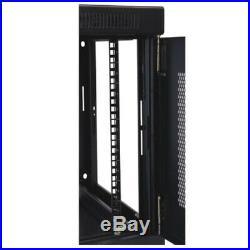 Tripp Lite 9U Wall Mount Rack Enclosure Server Cabinet, 16.5 Deep, Switch-Dept