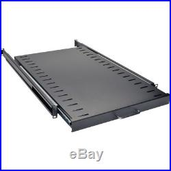 Tripp Lite Rack Enclosure Cabinet Standard Sliding Shelf 100lb Capacity