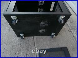 Tripp Lite SR12UB SmartRack Rolling Enclosure Rack Cabinet