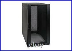 Tripp Lite SR25UB 25U Rack Enclosure Server Cabinet Doors and Sides 3000lb