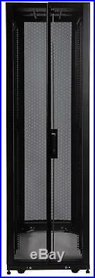Tripp Lite SR48UB SmartRack 48U Rack Enclosure Server Cabinet 3000lb Capacity