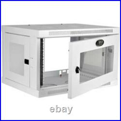 Tripp-Lite SRW6UWG Accessory 6U Wall-Mount Rack Enclosure Cabinet White Retail