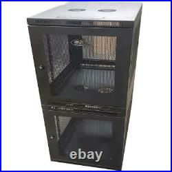Tripp Lite SmartRack 24U Colo 12U Server Rack Enclosure Cabinet HP Dell Servers