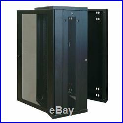 Tripp Lite SmartRack 26U Hinged Wall-Mount Standard-Depth Rack Enclosure Cabinet