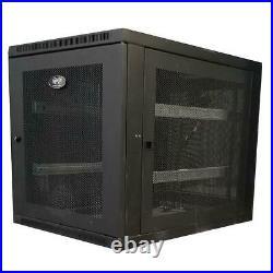 Tripp Lite SmartRack SR12UB 12U Server Rack Enclosure Cabinet HP Dell Servers