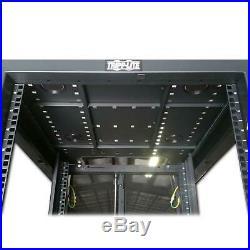 Tripp Lite SmartRack SR42UBMD 42U Mid Depth Rack Enclosure Cabinet w Side Panels