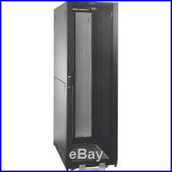 Tripp Lite Sr2400 42u Rack Enclosure Server Cabinet Doors & Sides 2400lb Capa