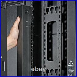 Tripp Lite Srvrtbar 42u Rack Enclosure Server Cabinet Vertical Cable Management