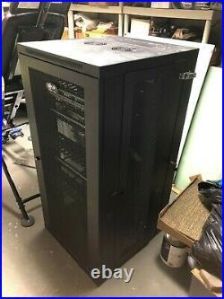 Tripp Lite Srw26usdp 26u Wall Mount Rack Enclosure Server Cabinet
