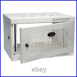 Tripp Lite Srw6uw 6u Wall Mount Rack Enclosure Server Cabinet Wallmount Doors