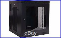 Tripp Lite Wall mount Rack Enclosure Server Cabinet with Plexiglass Door
