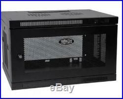 Tripp-Litte SmartRack SRW6U Switch-Depth Wall-Mount Rack Enclosure Cabinet