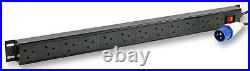 VERT UK PDU 12-WAY 16A COMMANDO Enclosures & 19 Cabinet Racks, VERT UK PDU