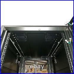Vertiv VR3100 42U 19 VR APC DELL Server Rack Enclosure Cabinet Black