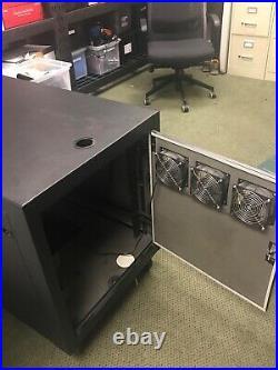XRackPro2 Noise Reduction Server Rack Enclosure Cabinet