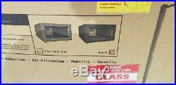 XrackPro XR-NRE2-6U-US-BLK Noise Reduction Enclosure Black Rack Cabinet